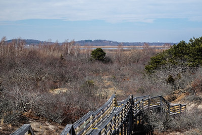 Looking back to Plum Island Sound.
