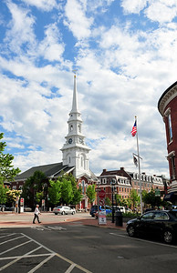 Downtown Portsmouth.