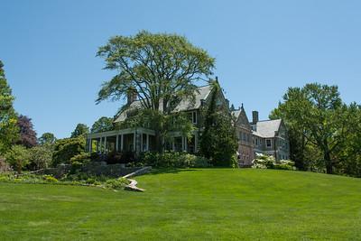 Blithewold Mansion.