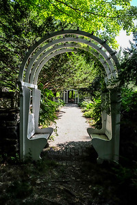 Entering The Old Garden.