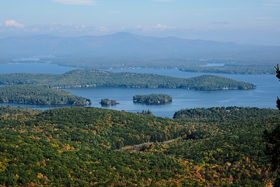 View across Lake Winnipesaukee.