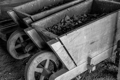 Charcoal used in the Forge.