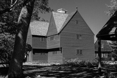 The Iron Works House, from the 1600's, restored in 1915.