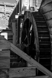 Waterwheel outside the Blast Furnace.