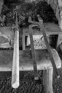 Tools inside the Forge.
