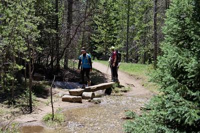 Along the Colorado River Trail.