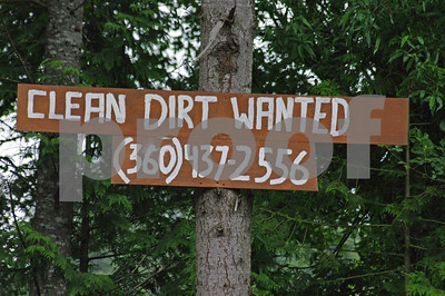 As opposed to dirty dirt