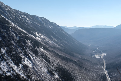 At the Summit overlooking Crawford Notch.