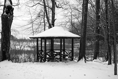 The Gazebo on South Esker Trail.