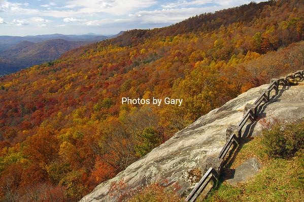 South Carolina Foothills and Northern Georgia, October/November 2014
