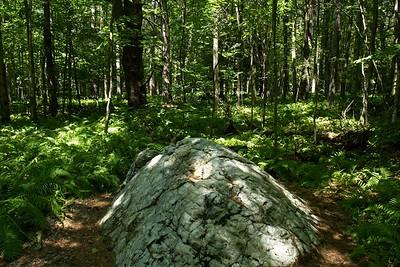 Marble mound.