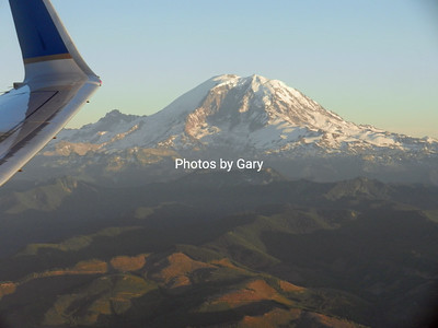 Mount Rainier from the air