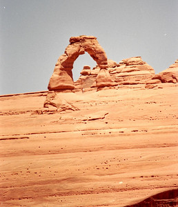 Delicate Arch, Arches National Park, May 2000