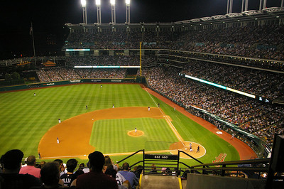 Jacobs Field, Indians vs. Yankees