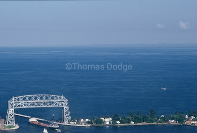 Aerial Lift Bridge, Lake Superior, Duluth, MN.