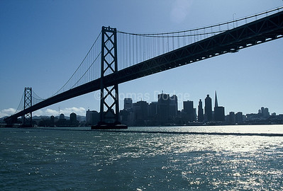 San Francisco-Oakland Bay Bridge.