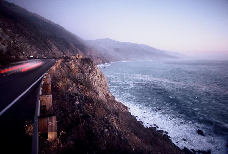 Highway 1, Big Sur, CA.