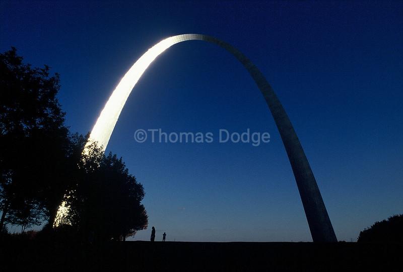 Gateway Arch, St. Louis, MO.