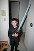 Declan dressed as Anakin Skywalker.