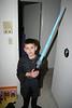 Declan dressed as Anakin Skywalker.