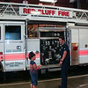 Red Bluff, first stop of our trip, got a great tour of all the fire trucks and compartments, our private guide let us climb and all over the truck.