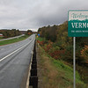 Welcome to Vermont<br /> Interstate I-93N for a brief stretch to connect 302W with US-2W