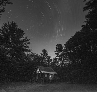 70-minute exposure without noise reduction, Friday night.