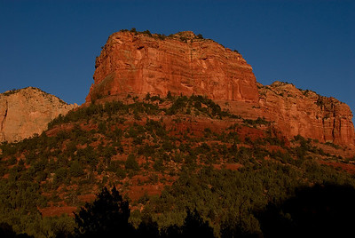 Sedona Mtn at Sunset
