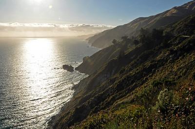 Driving back towards Santa Cruz