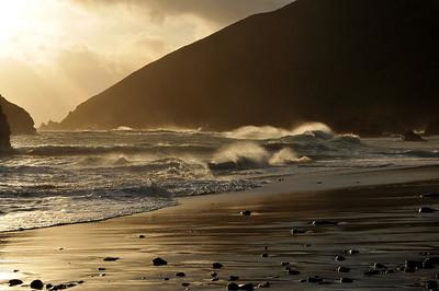 Sunset at Pfeiffer beach