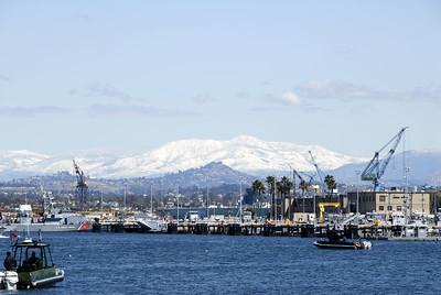 San Diego Harbour - view from Coronado Island