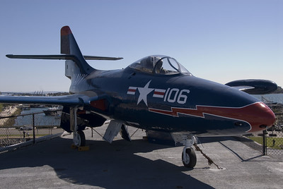F9 Phanter on the Midway