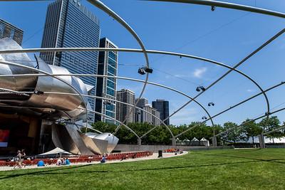 The Jay Pritzker Pavilion