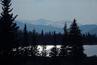 From Mt Evans towards Idaho Springs