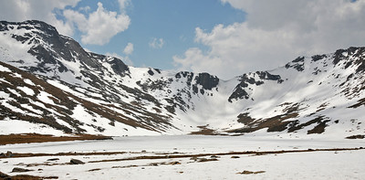 Summit Lake at Mt Evans