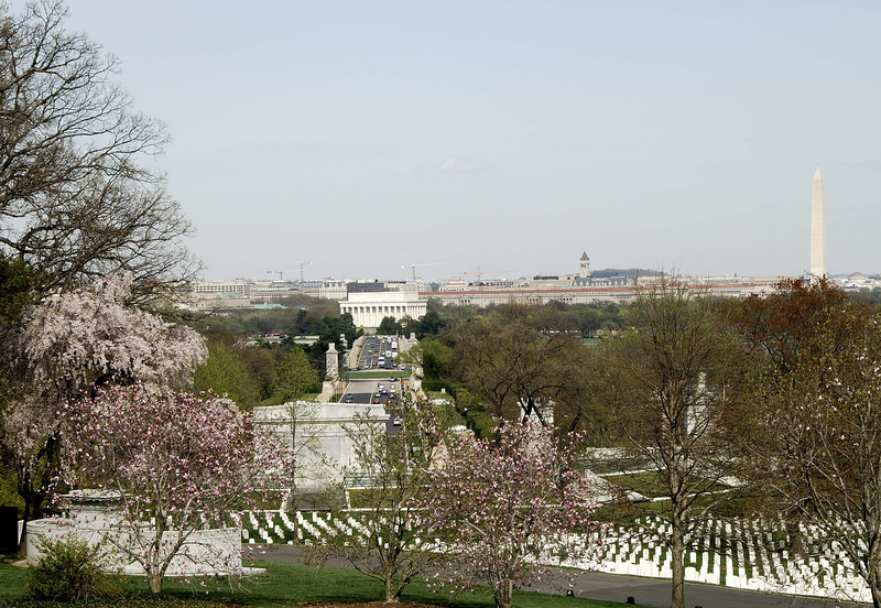 View of DC from Arlington