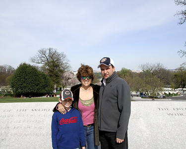 3 of us at Arlington
