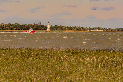 Tybee Island, GA  - Coast Guard Boat
