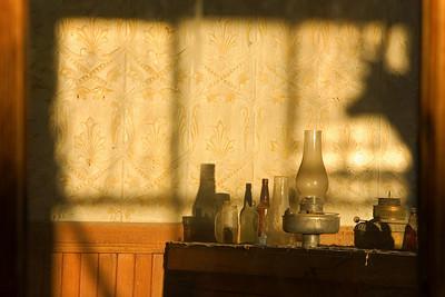 inside a bodie saloon