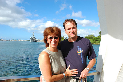 Jody & Zevy @ the Arizona Memorial
