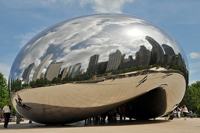 Cloud gate aka The Bean