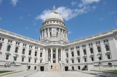 The State Capitol in Madison, WI