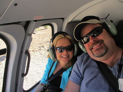 In the copter...