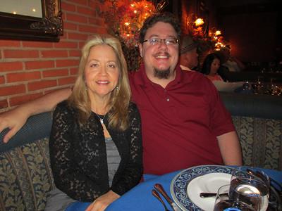 Jen's birthday celebration at Hugo's Cellar.