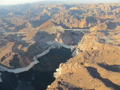 Birdseye view of the dam
