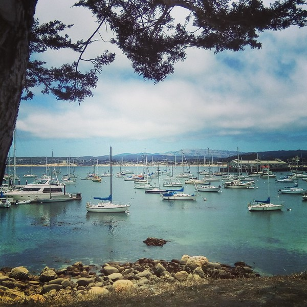 2017 July - Monterey, California - trip with Liway.<br /> Enhanced with Instagram.