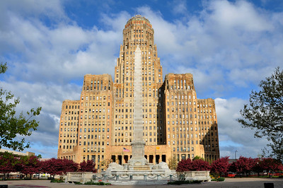 Buffalo City Hall at the Niagara Square