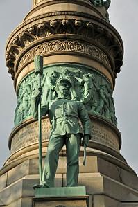 Lafayette square in Buffalo