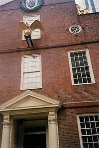 Boston Freedom Trail - old townhouse