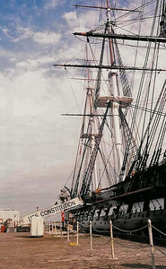 Boston Freedom Trail - USS Constitution